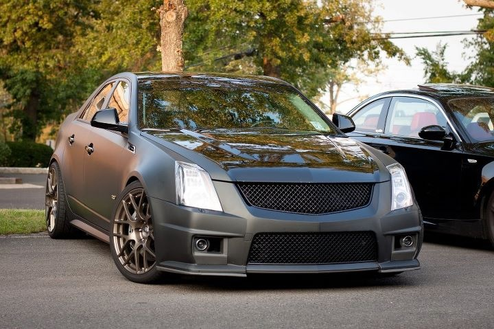 Cadillac cts v of the month october submit your photos second generation only