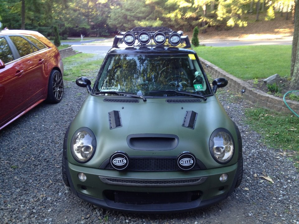 Vented Hood And AIT Motoring Alliance MINI Cooper Forums